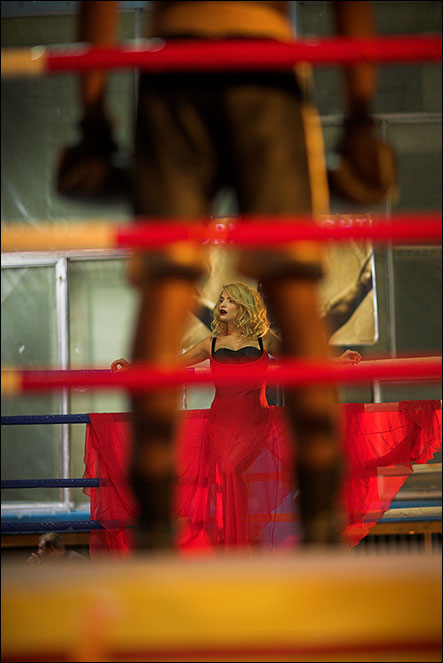 Татьяна Котоваю Сьемки клипа. 20101