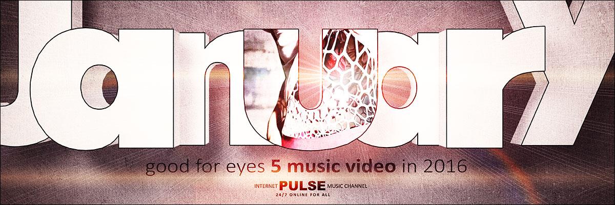 Pulse internet music channel. January set