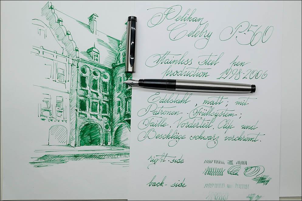 Leaflet Pelikan Celebry P560. Lenskiy.org