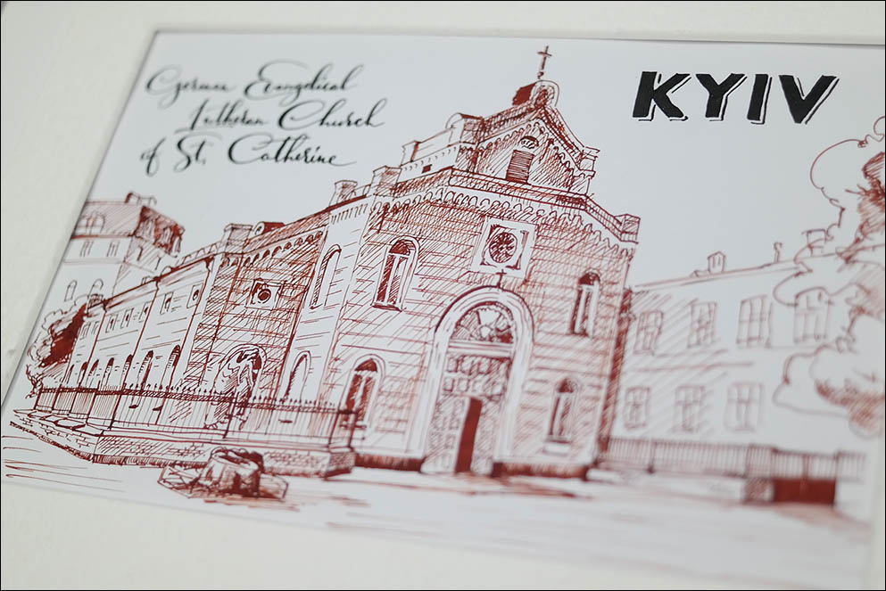 German Evangelical Lutheran Church of St. Catherine. Kyiv. Lenskiy.org