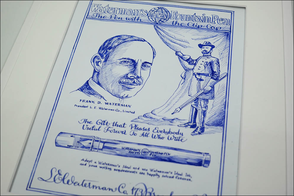 idea Waterman Safety pen vtg. advertise. Lenskiy.org