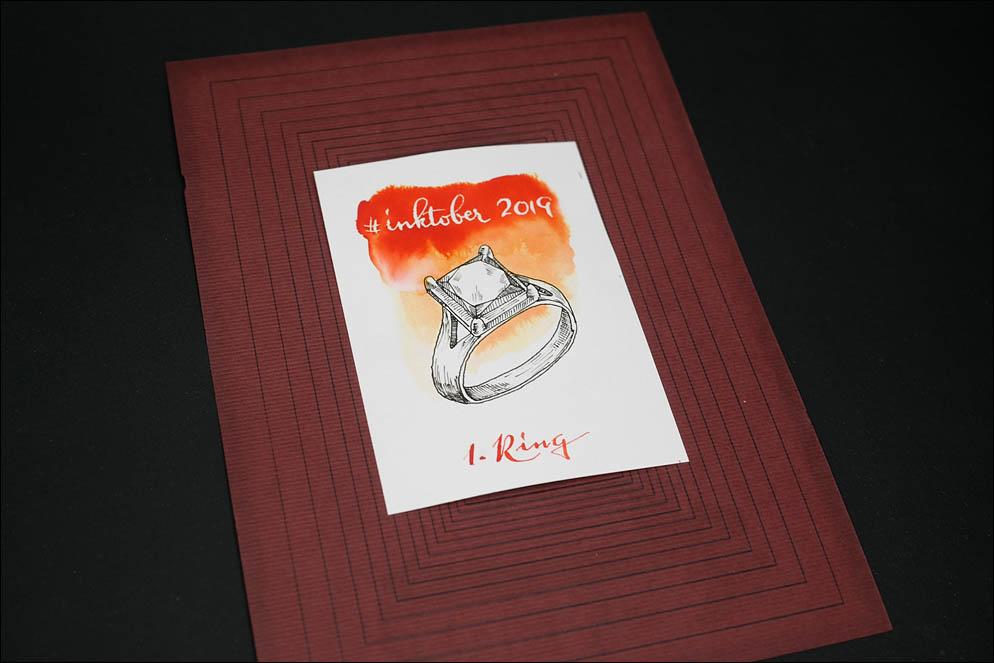 #inktober2019. 1: Ring. Lenskiy.org