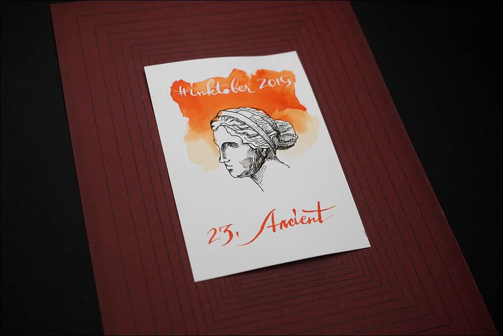 #inktober2019. 23: Ancient. Lenskiy.org