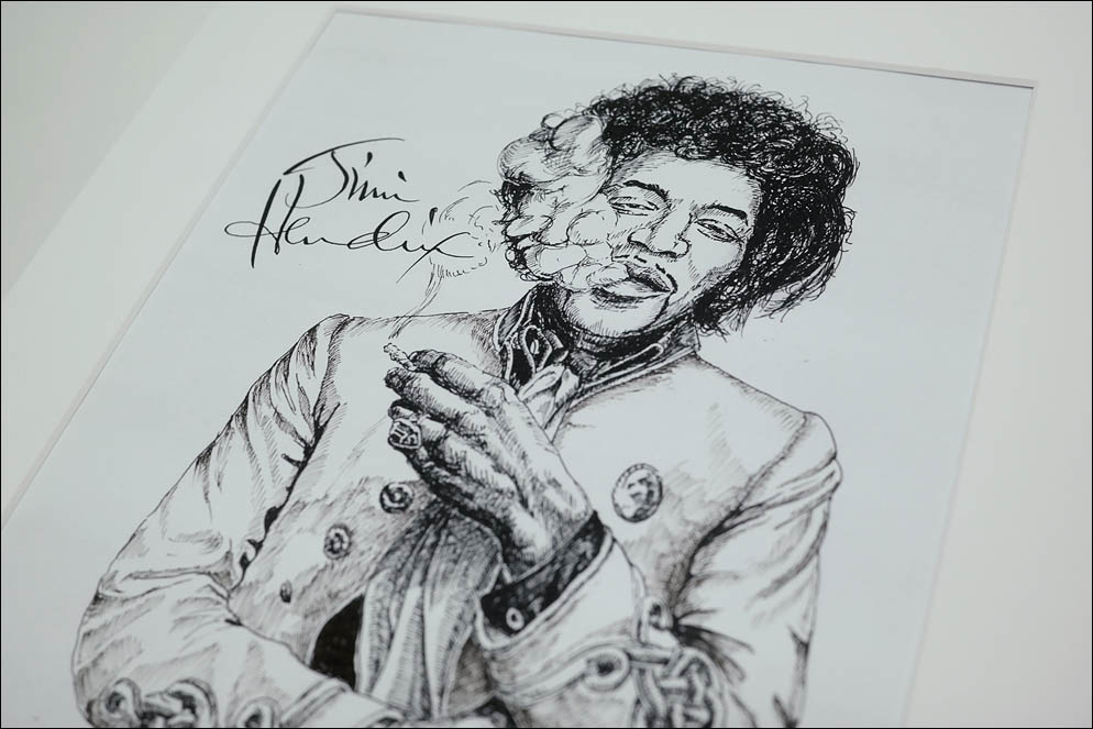 Jimi Hendrix (work). Lenskiy.org