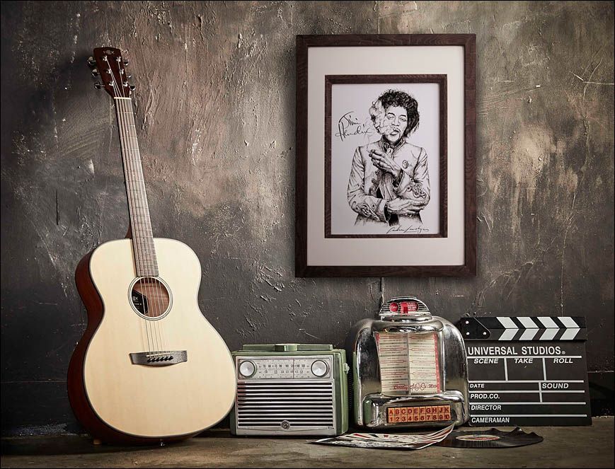 Jimi Hendrix (final in frame). Lenskiy.org