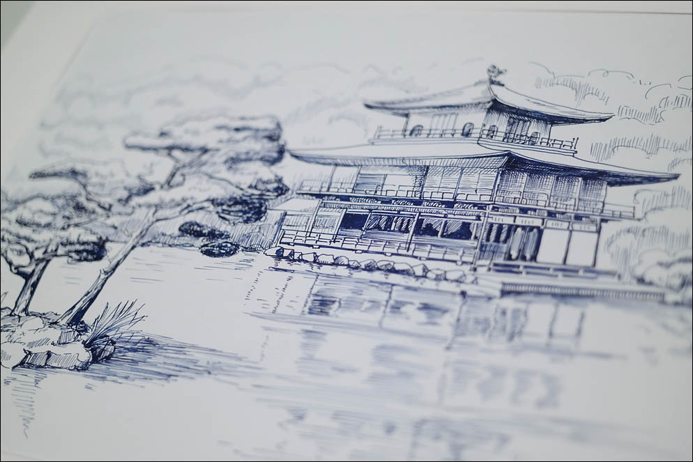 Kinkaku-Ji. Golden pavilion. Kyoto. Lenskiy.org