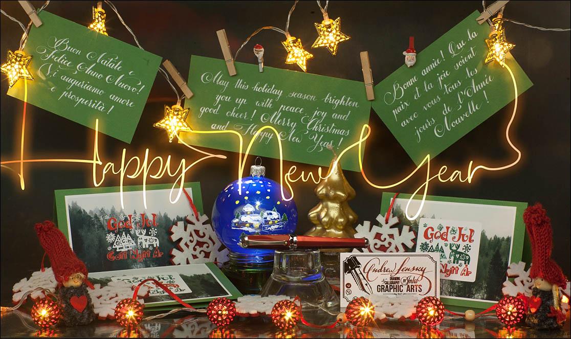 Happy New Year Fountain Pen Lovers. Lenskiy.org