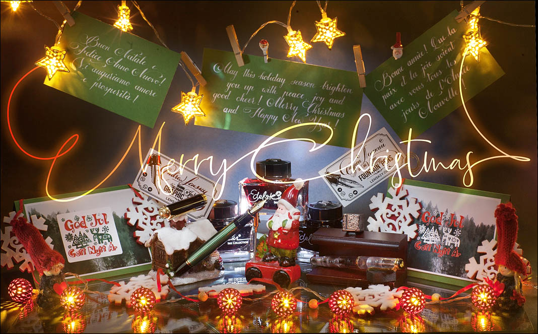 Merry Christmas Fountain Pen Lovers. Lenskiy.org