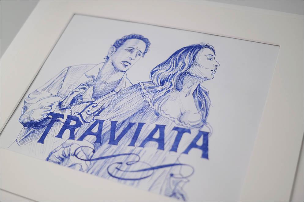 La Traviata. Poster. Lenskiy.org