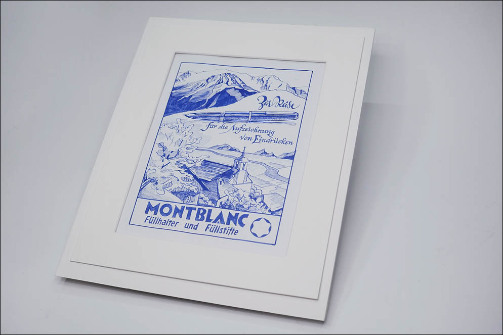 vintage advertise Montblanc fantasy. Lenskiy.org