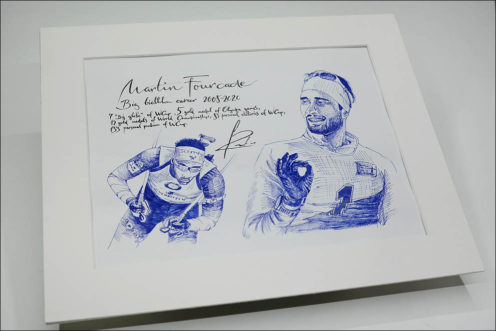 Martin Fourcade - legend biathlete. Lenskiy.org