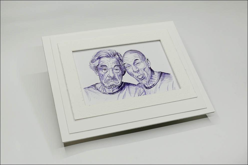 Sir Ian Murray McKellen & Sir Patrick Hewes Stewart. Lenskiy.org