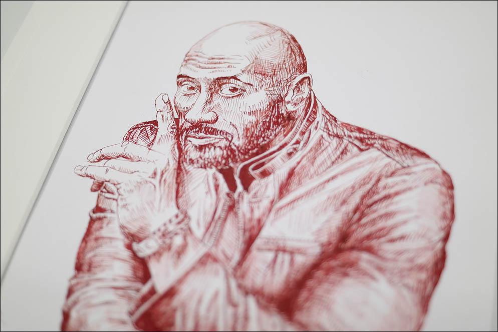 Dwayne Johnson. At least one pen. Lenskiy.org