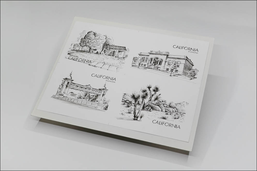 California postcards (updates). Lenskiy.org