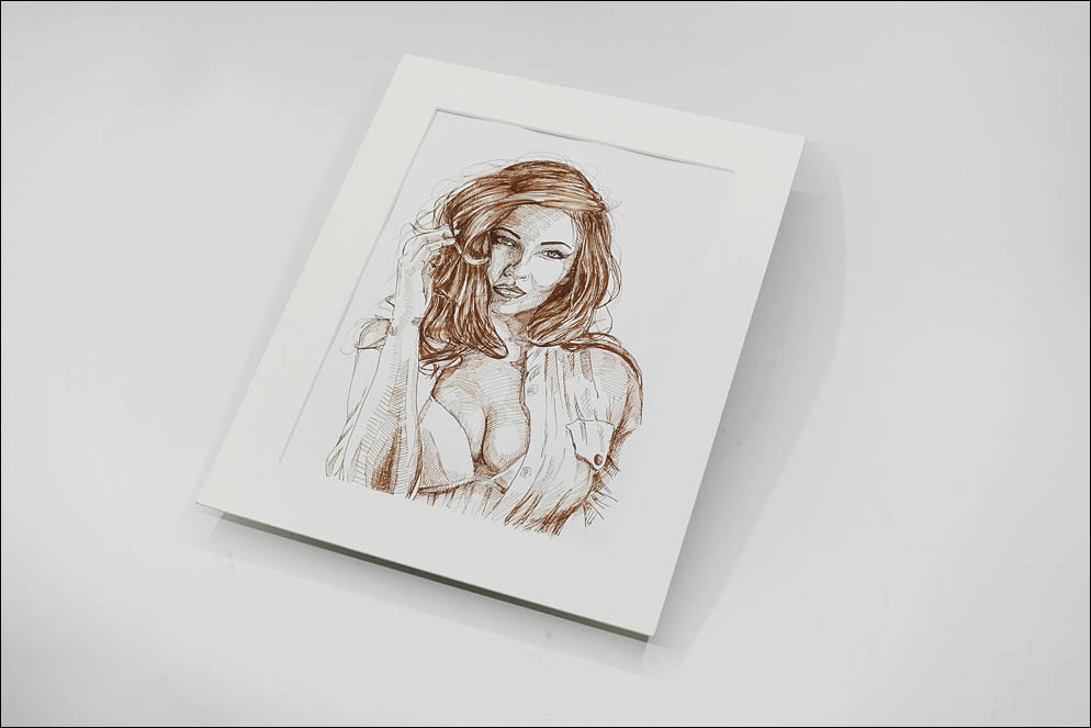 Woman portrait. Lenskiy.org