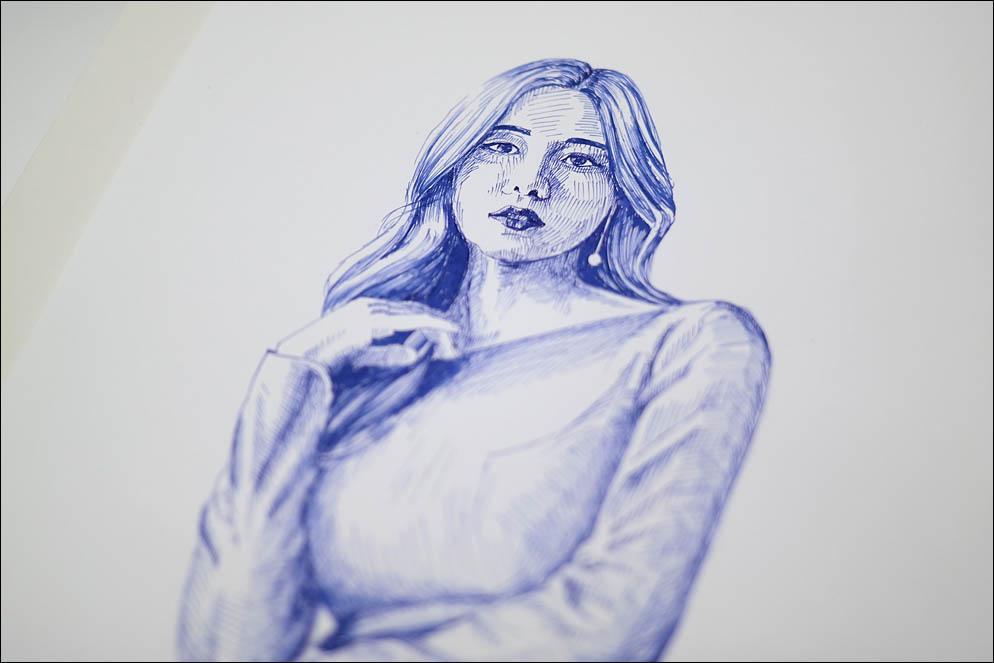 Korean girl. Lenskiy.org