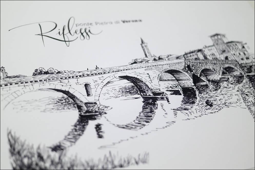 ponte Pietra di Verona. Lenskiy.org