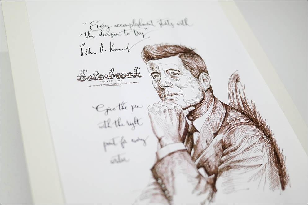 John Fitzgerald Kennedy - JFK 35th president of the United States. Lenskiy.org