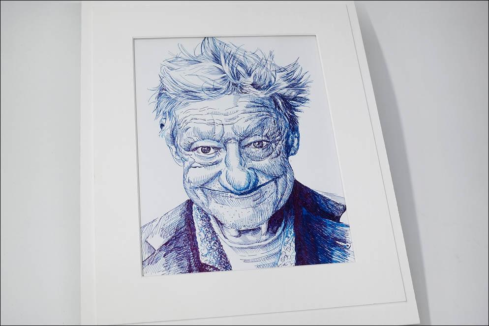 Cheerful Old Man. Lenskiy.org