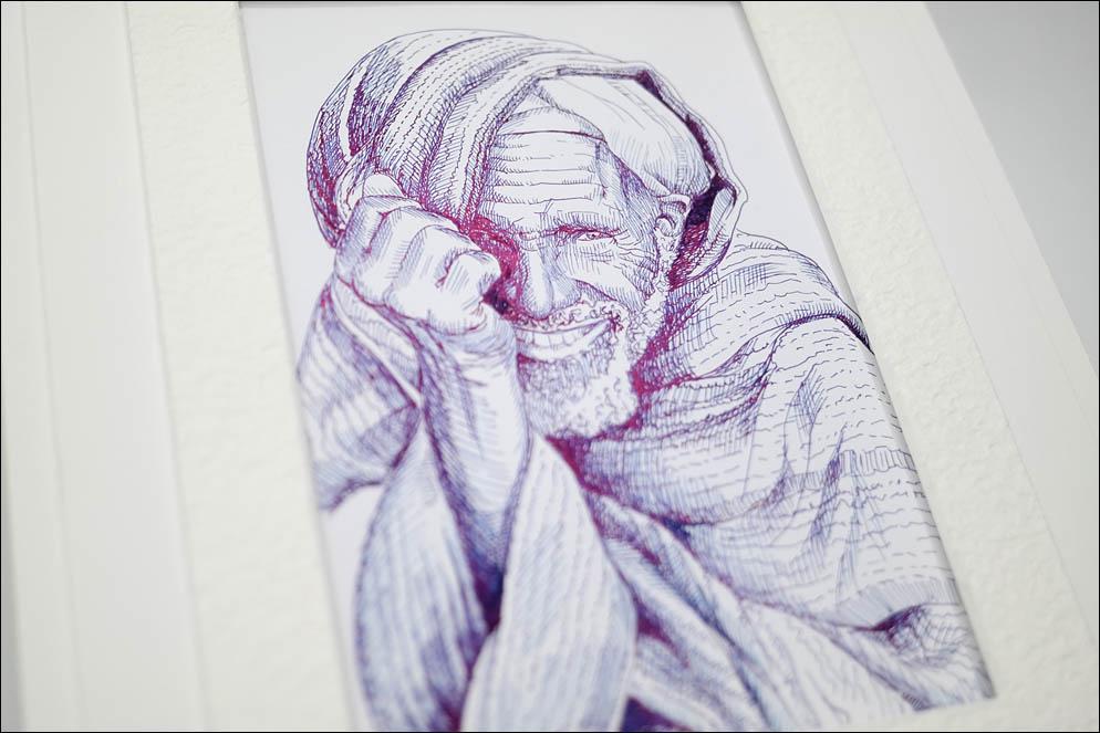Danisho smiling old man. Ethiopia. Lenskiy.org