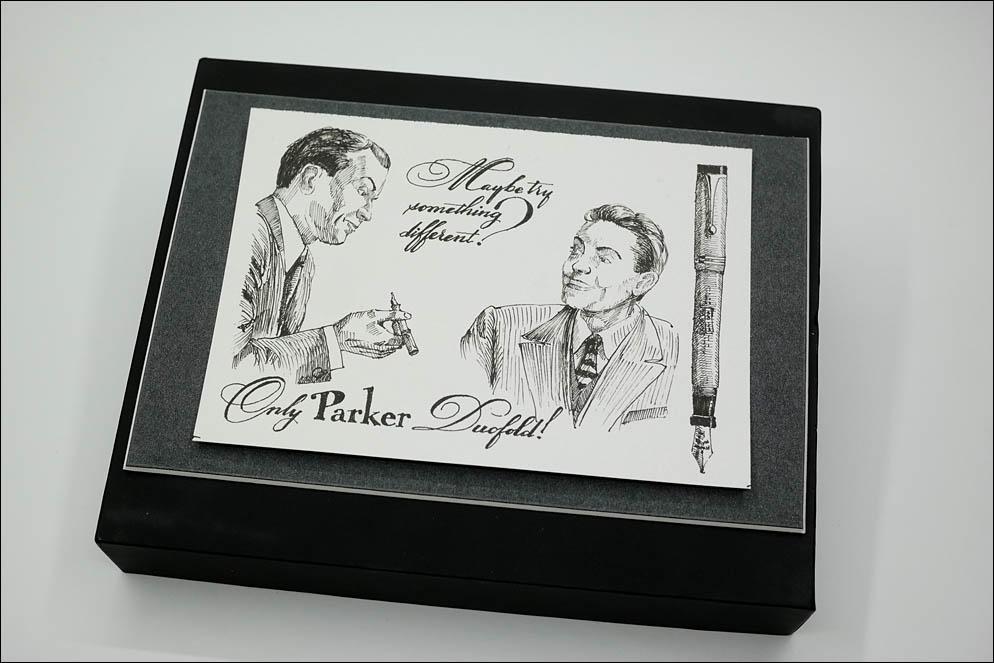 Parker Duofold vintage advertising fantasy. Lenskiy.org