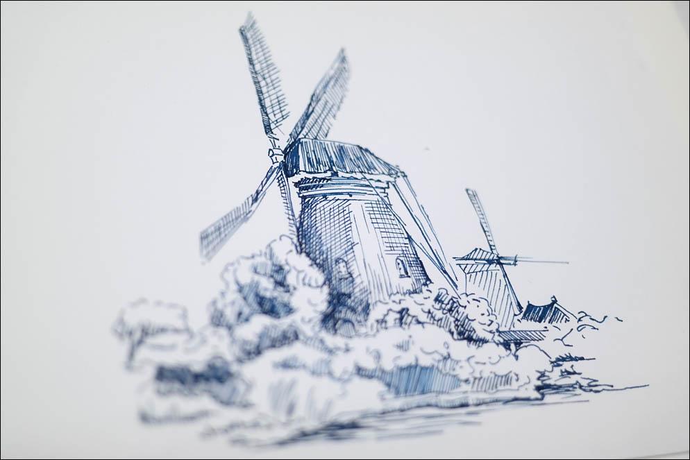 Belgian windmill. Lenskiy.org
