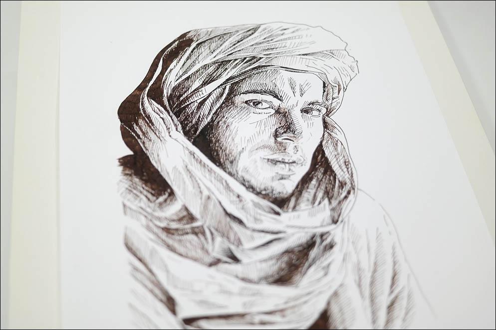 Handsome Berber man (North Africa). Lenskiy.org