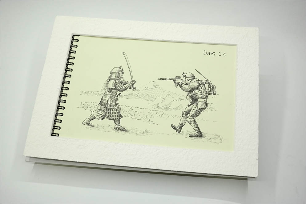 #inktober2020. 14: Armor. Lenskiy.org