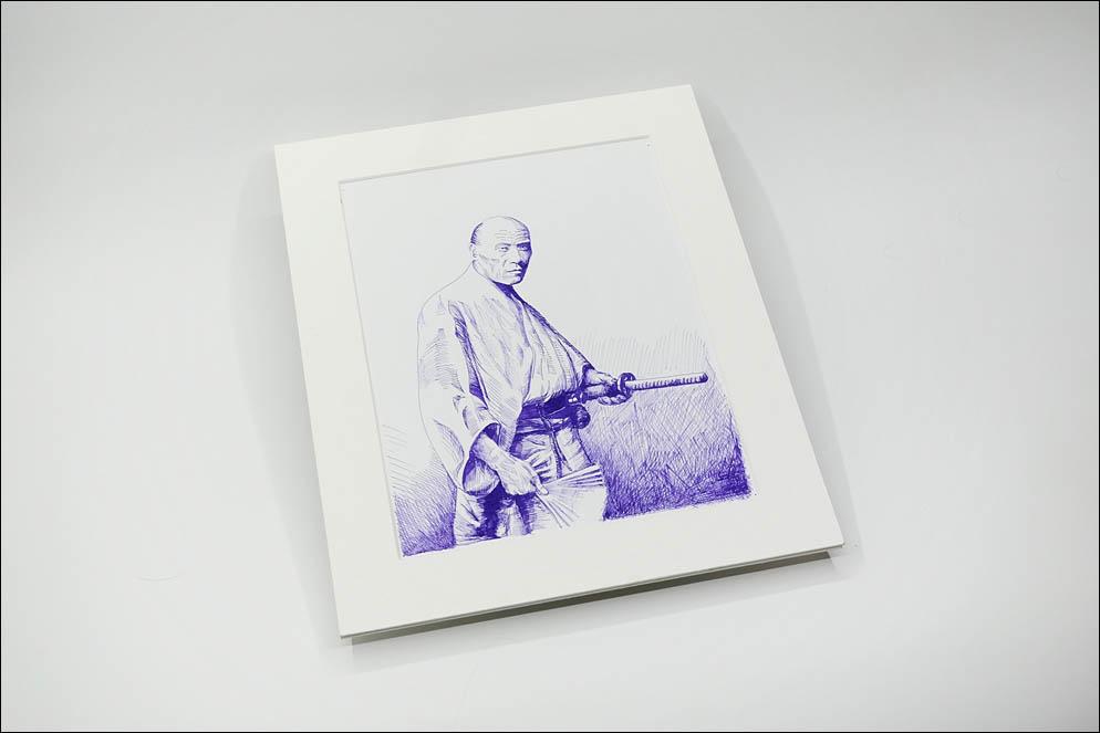 Samurai, Yokohama, Felice Beato 1864–65. Lenskiy.org