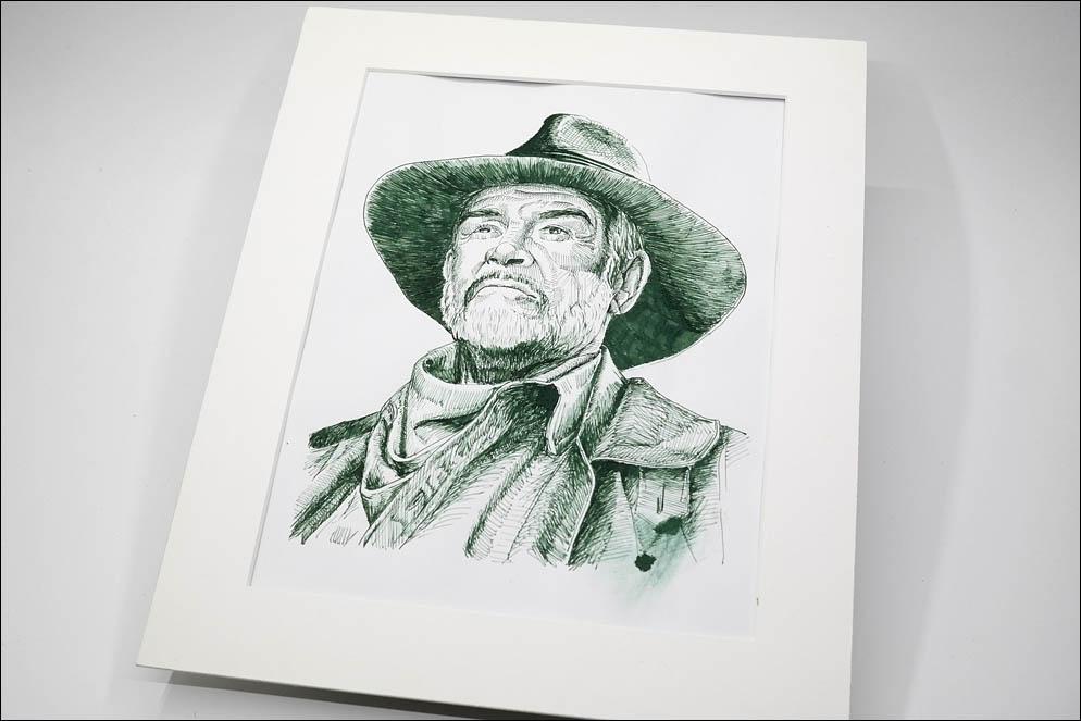 Sir Sean Connery by Albert Watson from The League of Extraordinary Gentlemen (2003). Lenskiy.org