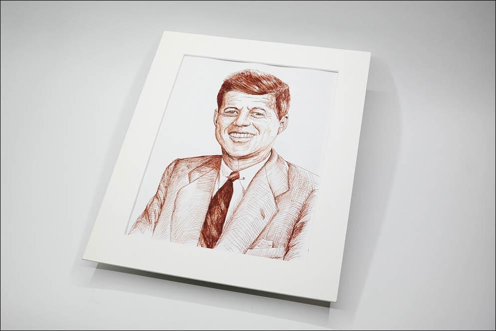 John Fitzgerald Kennedy known as JFK. Lenskiy.org