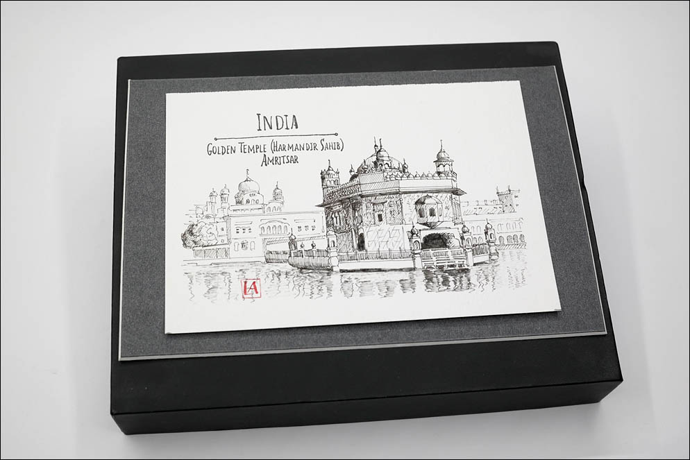 India Sights Postcards. Golden Temple. Lenskiy.org