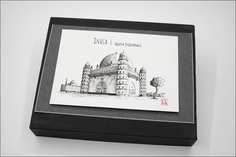 India Sights Postcards. Taj Mahal. Lenskiy.org