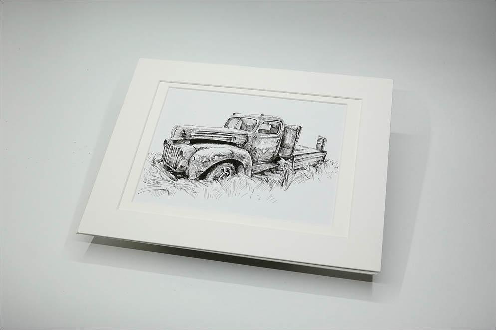 vintage(~1942) Ford Pickup Truck. Lenskiy.org