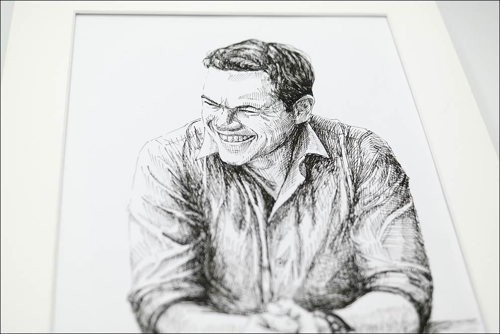 Matt Damon by John Russo. Lenskiy.org