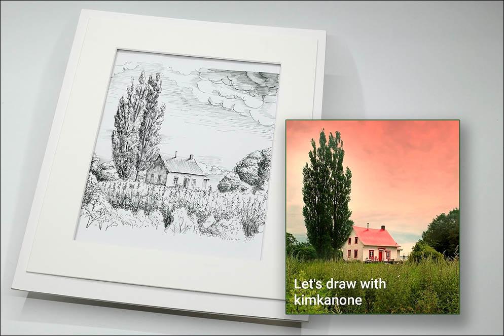Let's draw with kimkanone! Lenskiy.org
