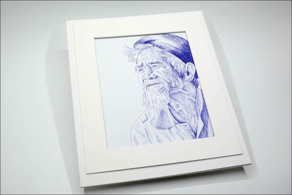 Old man Co Tu in central Vietnam. Lenskiy.org