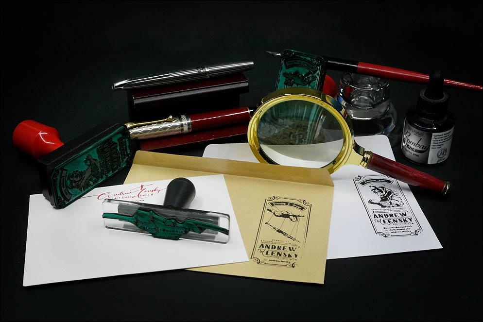 3 stamps project. Lenskiy.org