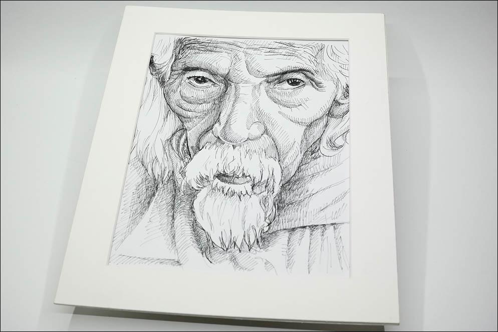 Oldman portrait. Lenskiy.org