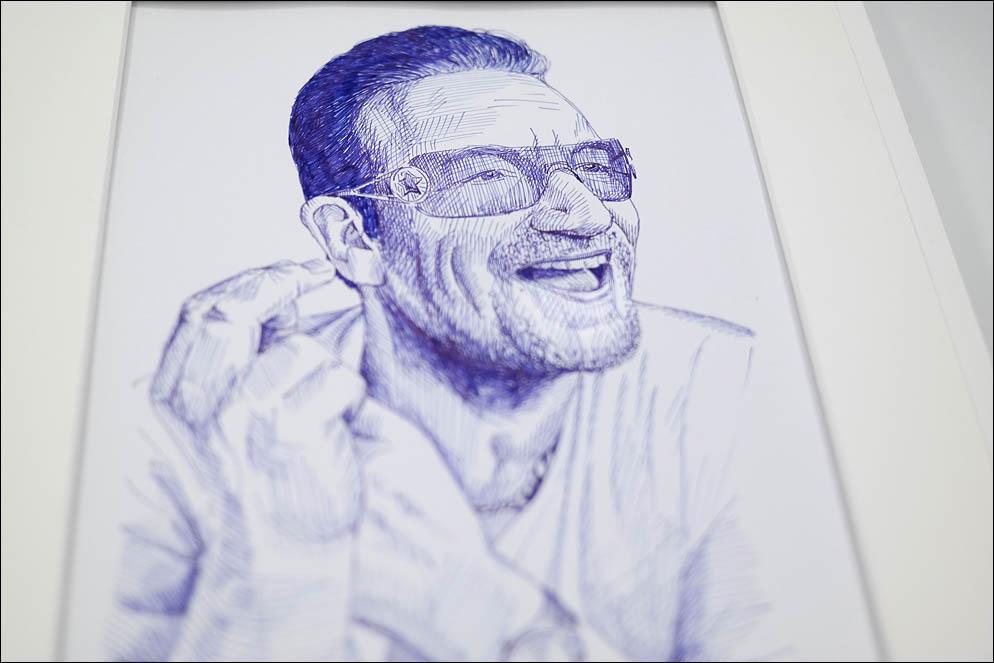 Paul David Hewson - U2 fronman. Lenskiy.org