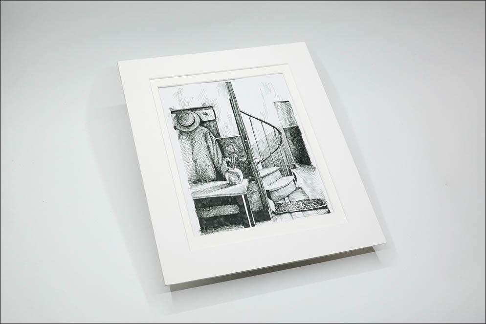 Andre Kertesz. In Mondrian studio, Paris, 1926. Lenskiy.org