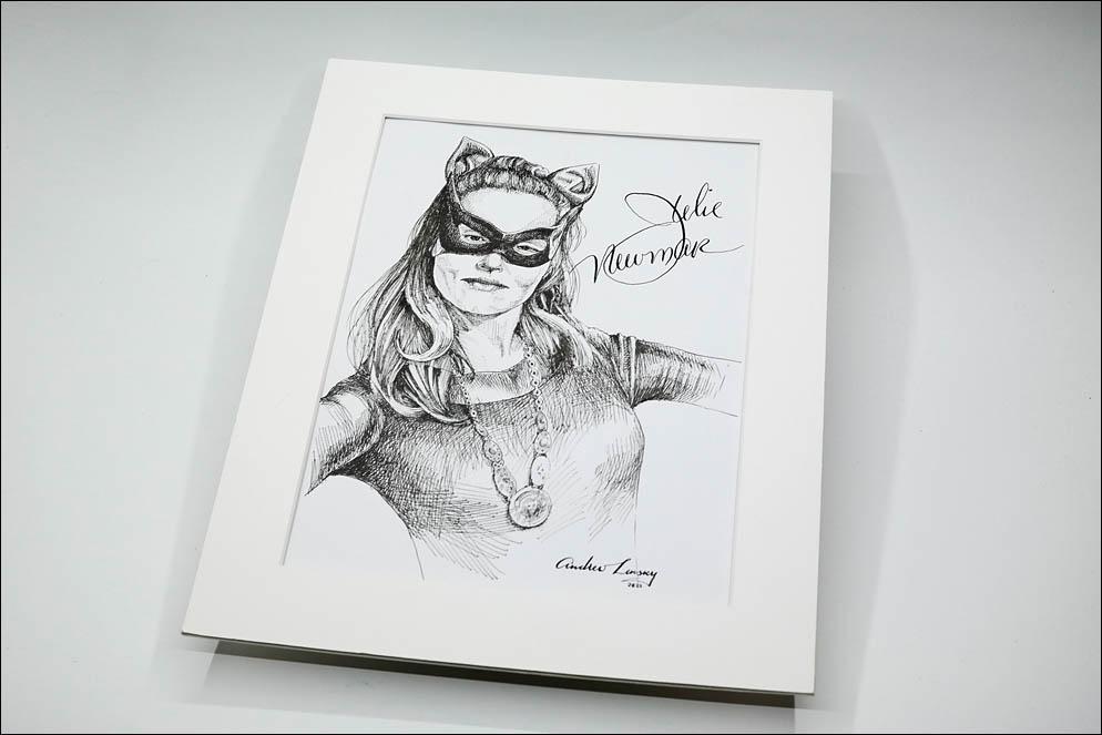 Julie Newmar as Catwoman. Lenskiy.org