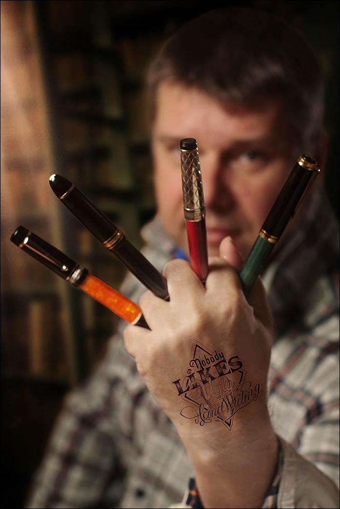 Andrew Lensky funny tattoo project. Lenskiy.org