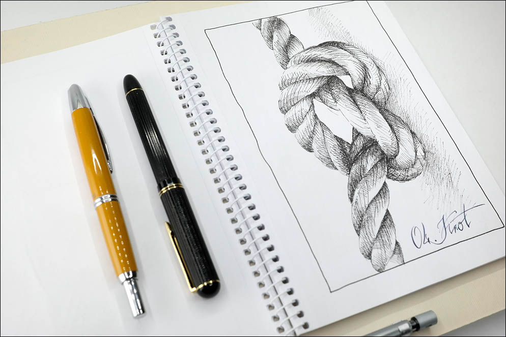 04. Knot. Inktober2021. Lenskiy.org