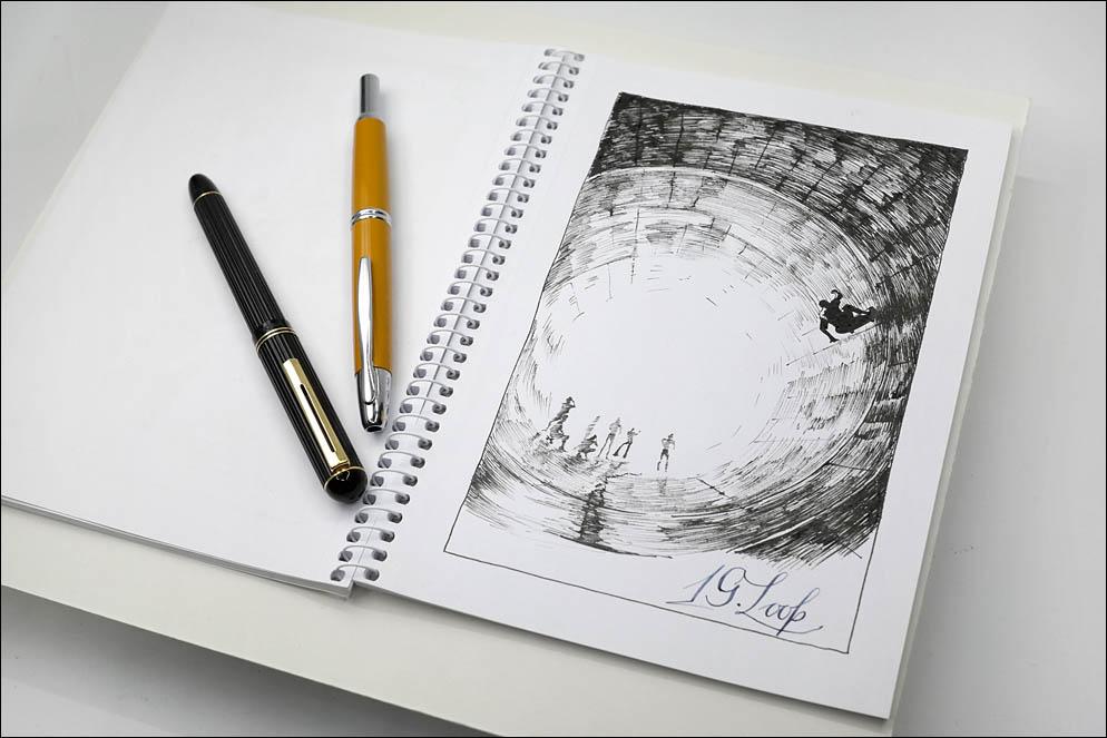 19. Loop. Inktober2021. Lenskiy.org