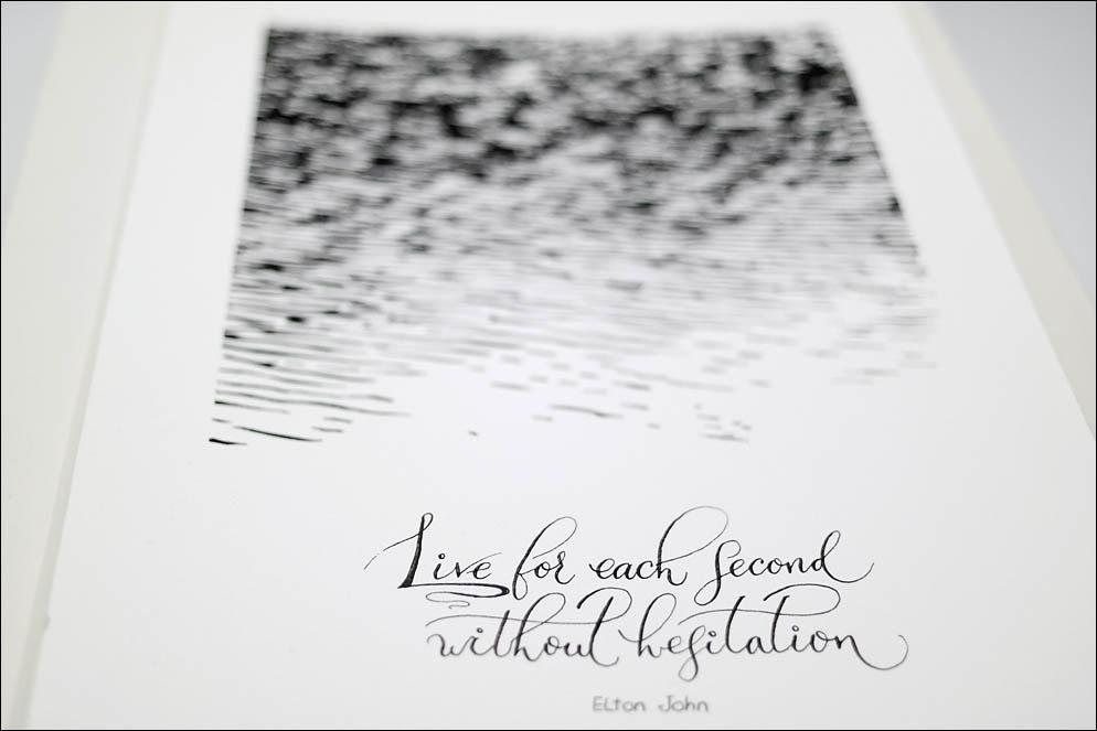 Elton John quote. Motivational drawing. Lenskiy.org